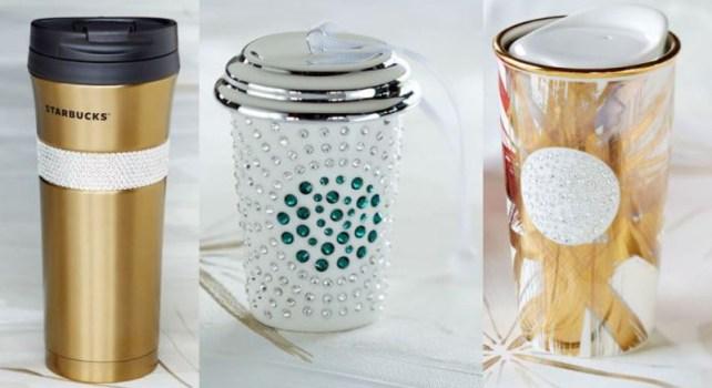 Starbucks et Swarovski : Des tasses ornées de cristaux en édition limitée