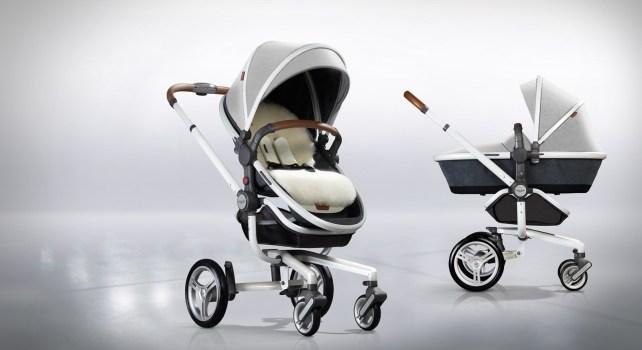Aston Martin et Silver Cross : Le luxe dédié aux nourrissons