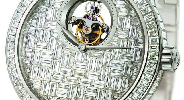 Blancpain Tourbillon Diamants : Une montre étincellante