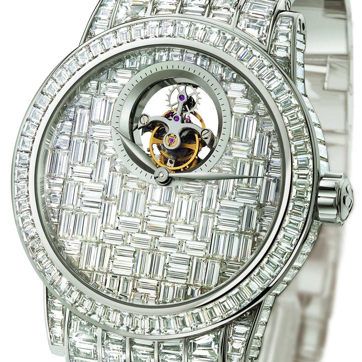 blanxcpain tourbilon diamant