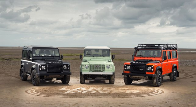 Land Rover Defender : La production se termine avec trois éditions spéciales