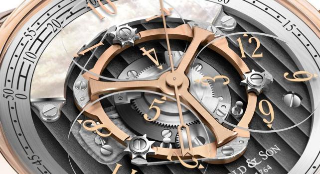 Arnold & Son Golden Wheel : Une montre digne des rois