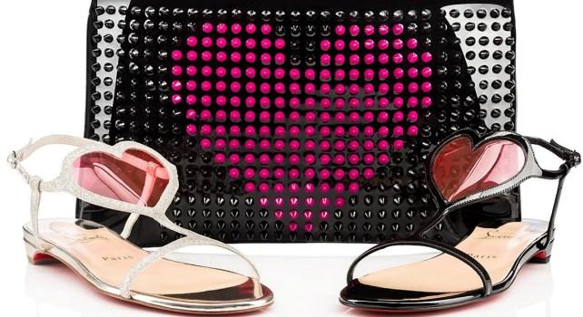 Christian Louboutin Printemps-Eté 2015 : Des sacs et chaussures pour la St Valentin