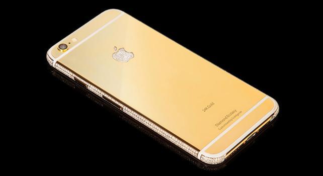 Goldgenie Diamond Ecstasy : Un iPhone 6 personnalisable sur mesure