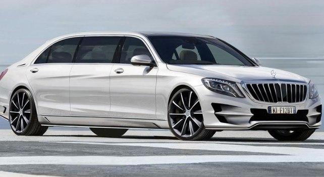 ARES Atelier Mercedes Classe S : Une version étirée pour ceux qui ne peuvent pas attendre le Pullman 600