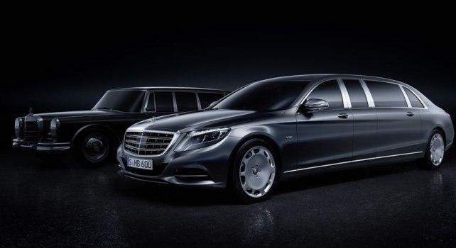 Mercedes-Maybach S600 Pullman : La limousine tant attendue enfin dévoilée