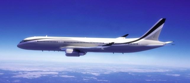 Andrew Winch Design Boeing 787-900 Dreamliner : Un avion transformé en château ambulant