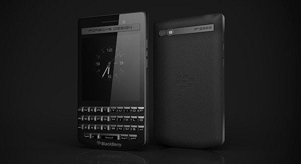 BlackBerry Porsche Design p'9983 Graphite : Un nouveau genre de smartphone