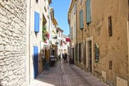 Cobbled streets of Saint Remy