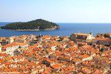 A bird's eye view over Dubrovnik
