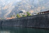 Hazy hillside of Kotor
