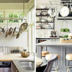 Kitchen Pot Racks Quartz Countertops Cost Rack Luxe Honey Kitchens