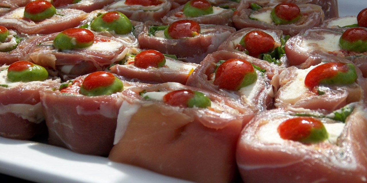 Prosciutto Di Parma Rolls from Chef Ivan Flowers