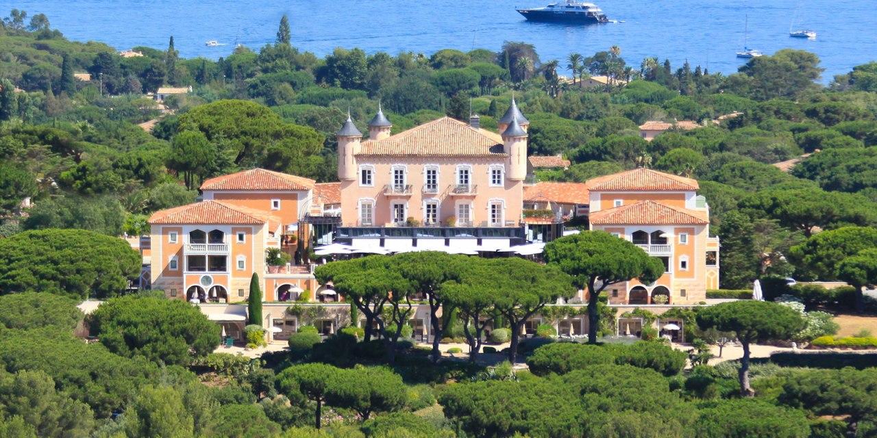 Saint-Tropez's Fairytale Castle: Chateau de la Messardiere