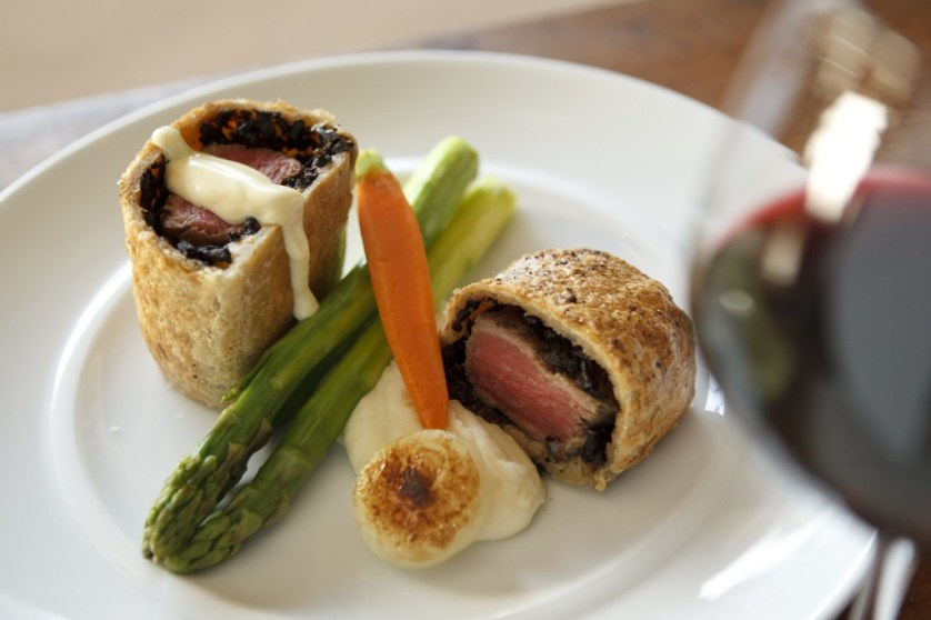 Beef Wellington at Wrights at Arizona Biltmore Photo: Maralyn D. Hill