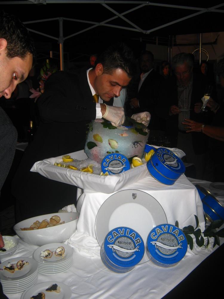 Caviar Served on Seabourn Photo: Hervé Laurent