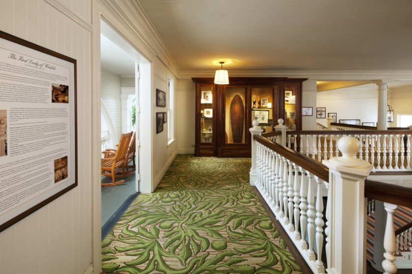 Moana Surfrider-Historical Floor Courtesy of Westin Resort & Spa