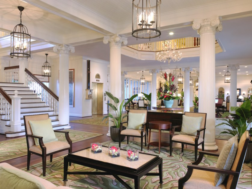 Moana Surfrider-Lobby Courtesy of Westin Resort & Spa