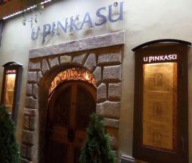 U Pinkasu (Prague) restaurant serves traditional Czech food with draft Pilsner beer. Photo Kissam