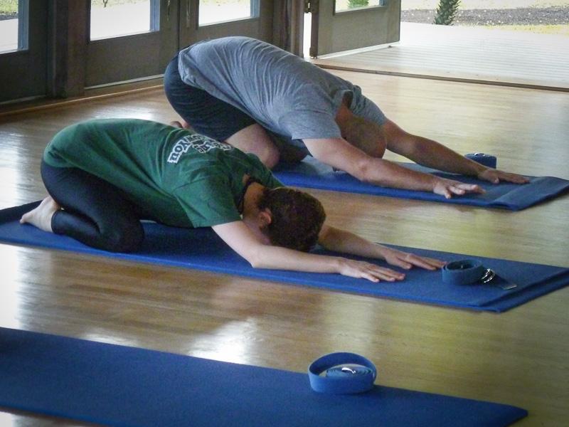Travaasa Hana yoga class