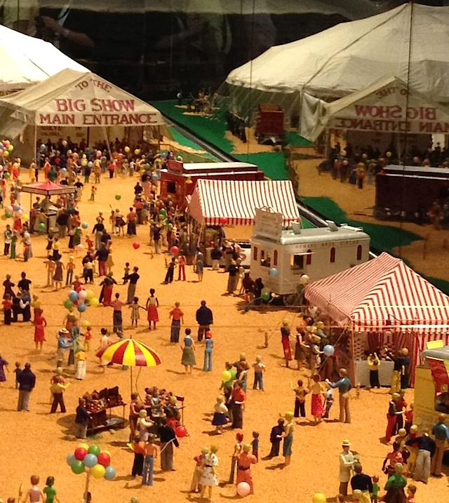 a snippet of Howard. C. Tibbals model circus