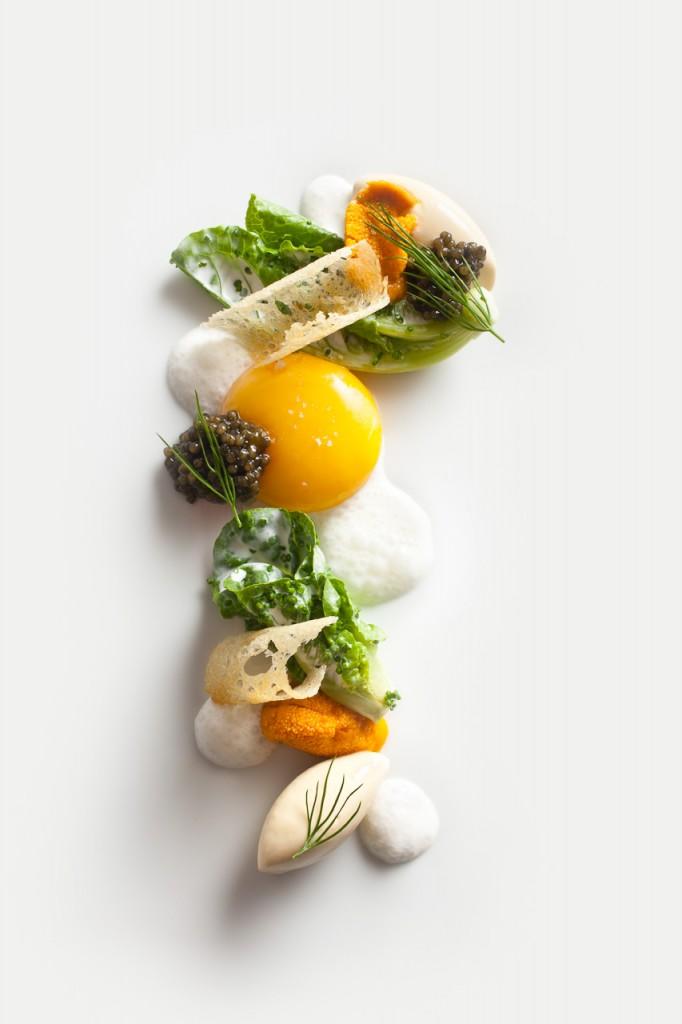 Caviar Fantasy of Eggs Courtesy of Francesco Tonelli