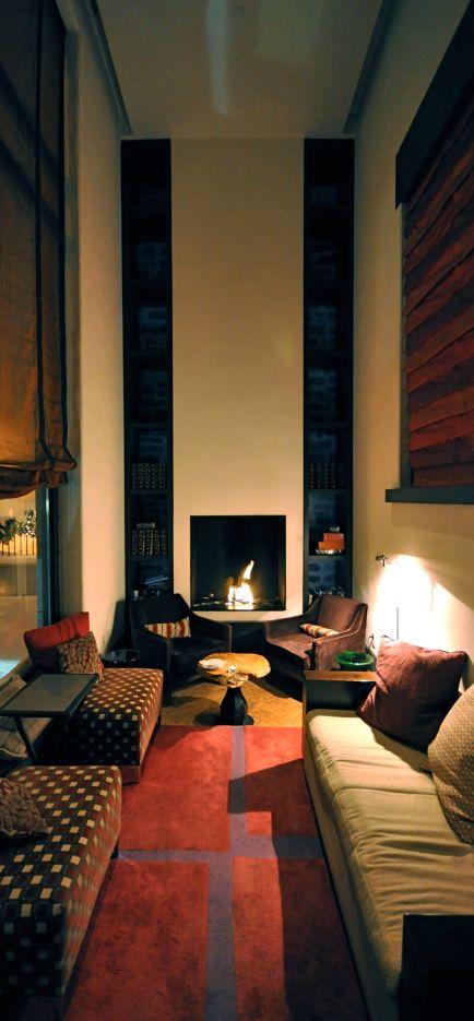 Auberge Saint-Antoine Sitting Room of Lobby
