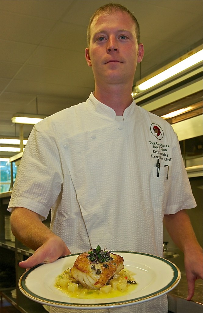 He's the man behind the master plan of taking food to the next level at the Gasparilla Inn.  Meet Executive Chef Seth Shipley.