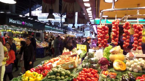 Boqueria Farmers Market