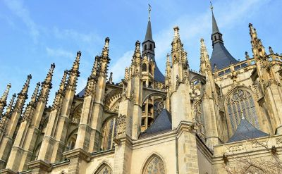 Spires and Rooftops of St. Barbara's Church, Kutna Hora - Czech Tourism photo