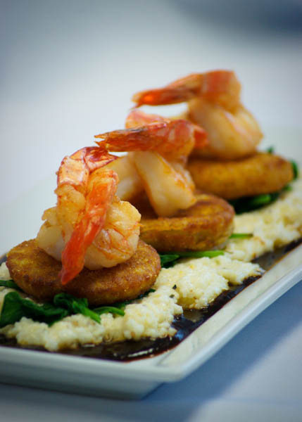 Shrimp & Grits (Photo courtesy of Croissants)