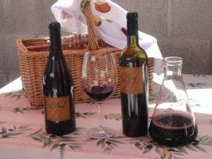 Al Fresco Tasting at Arns Winery