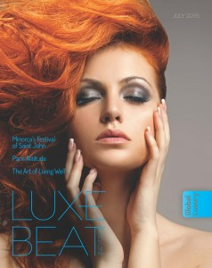 Luxe Beat Magazine Cover July 2015