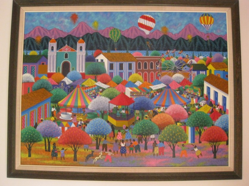 Rancho La Puerta and Its Art-Maralyn D Hill -RLP Painting in Spa