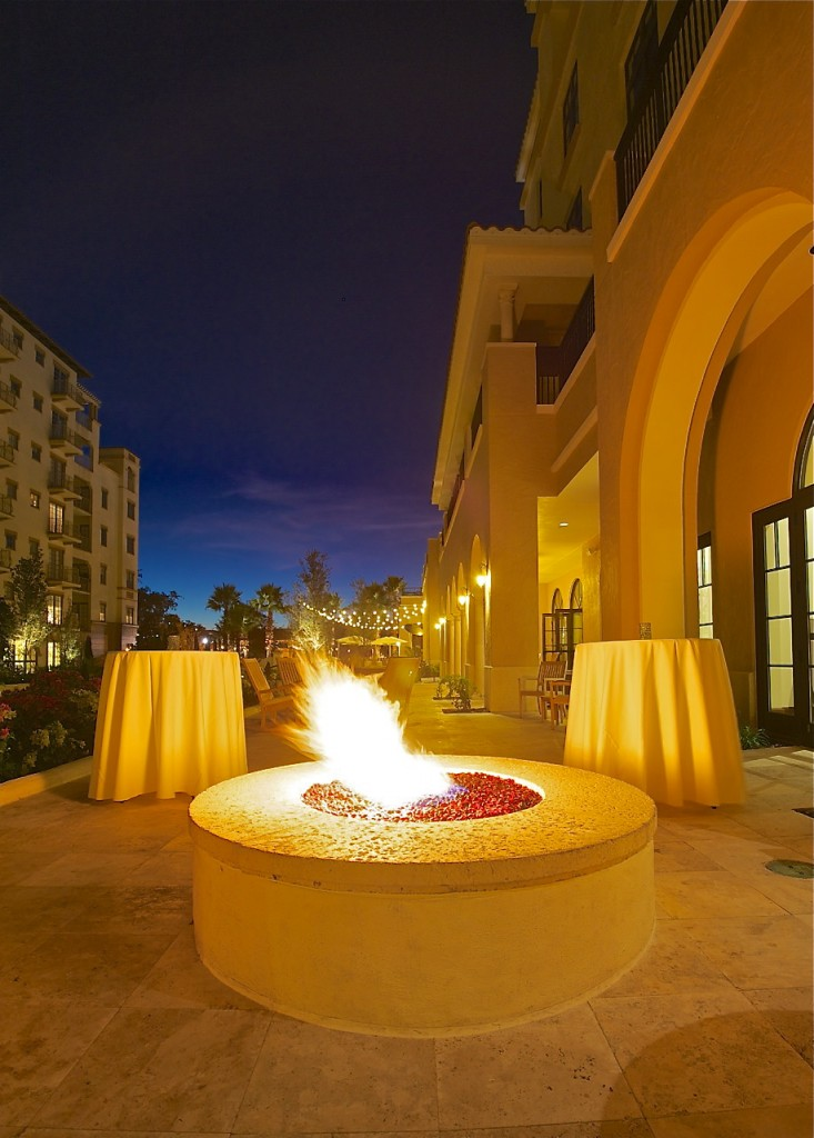 A roaring fire pit that warms your hands and heart at The Alfond Inn. All Images © Dale Sanders 2014 – www.DaleSandersPhotos.photoshelter.com