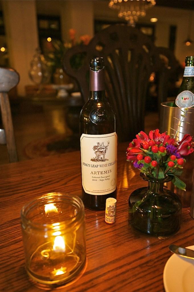 An impressive wine list sets the mood at Hamilton's Kitchen. All Images © Dale Sanders 2014 – www.DaleSandersPhotos.photoshelter.com