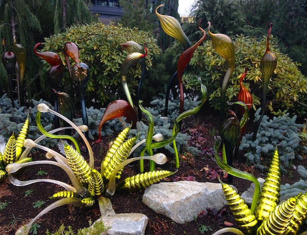 How does Chihuly's garden grow? pic by JRN
