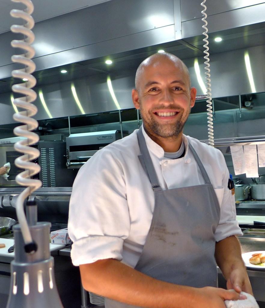 Chef Caleb France Cerulean