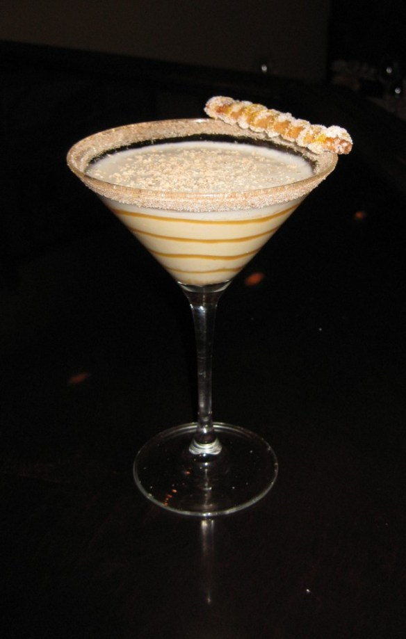 Holiday Martini from Gogi's Photo: Maralyn D. Hill