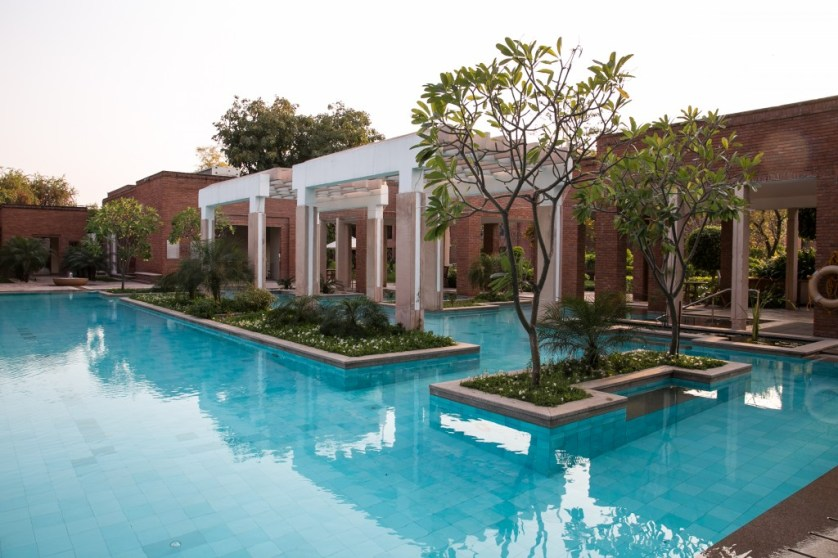 ITC Mughal Hotel Pool