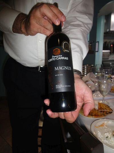 Magnus Baccata wine