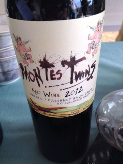 Montes Twins Red Wine.  Photo courtesy of ©tvm Todd Montgomery.