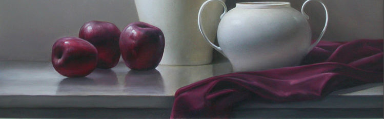Artist Elaine Kurie Conveys Serenity In Still-Life Paintings