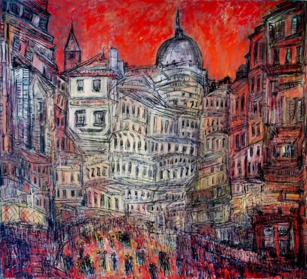 Paris Opus 2010 Oil on canvas ©Layla Fanucci
