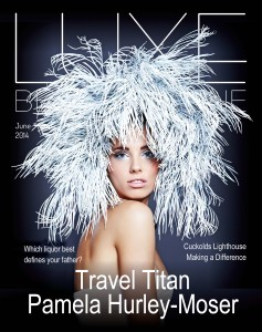 Luxe Beat Magazine June 2014 COVER