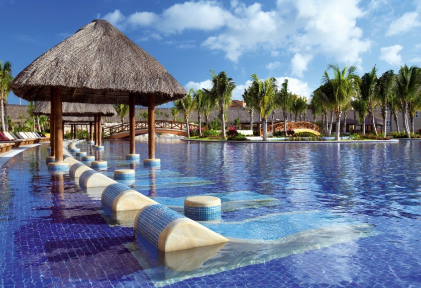 pool at Barcelo Maya Palace Deluxe