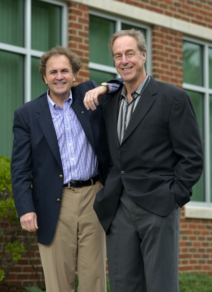 Tom Raffio (left) and Dave Cowens (right)