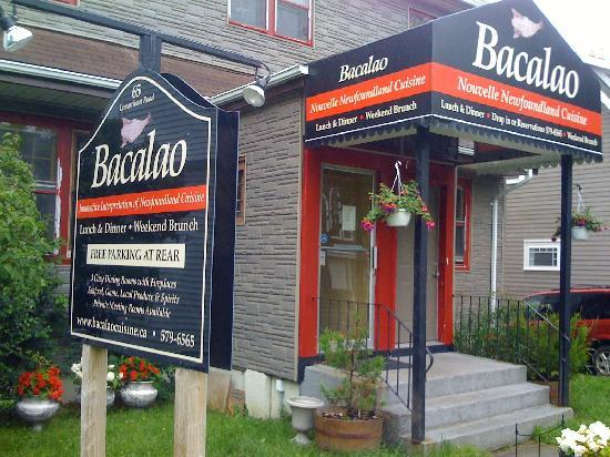 Bacalao fabulous introduction to Nouvelle Newfoundland cuisine