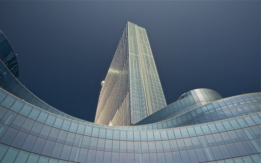 Taking architectural greatness to new heights at the Revel. Image Credit © Dale Sanders 2014.