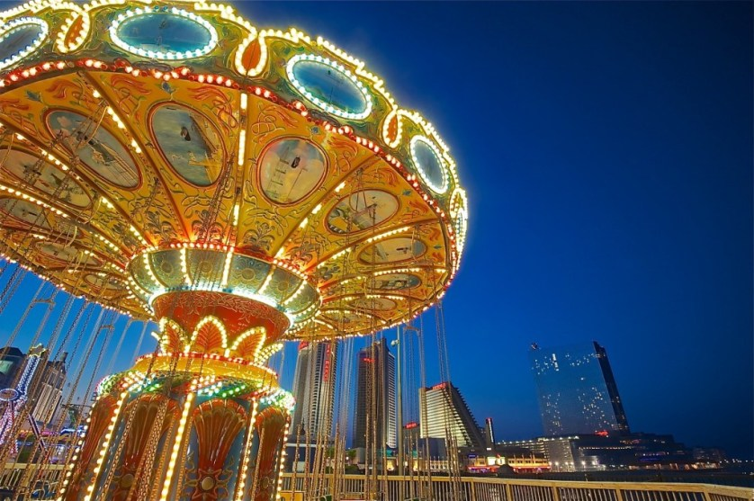 Embrace your inner child at the Steel Pier. Image Credit © Dale Sanders 2014.